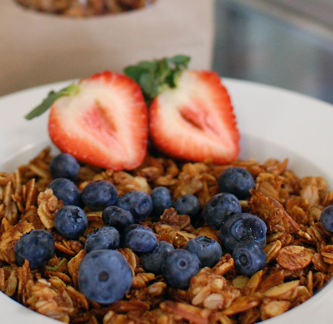 Our granola is horribly addicting.